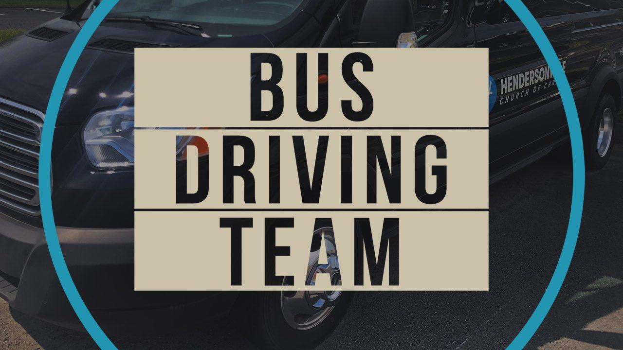 Equipo de conducción de autobuses