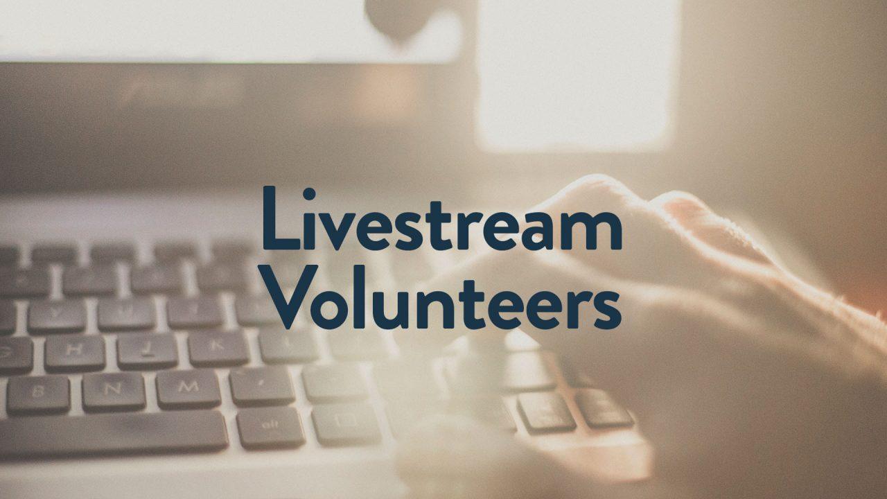 Livestream-Volunteer-Web